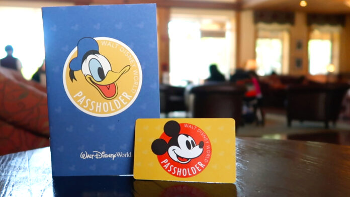 Walt Disney World Passholder Card