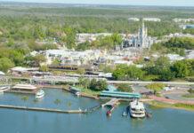 Magic Kingdom Aerial Walt Disney World