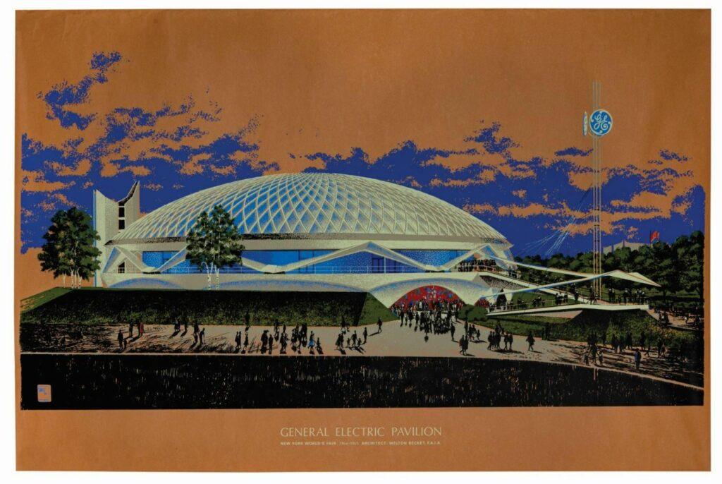 General Electric Pavilion Poster