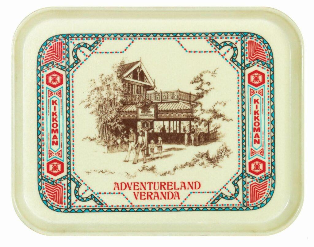 Adventureland Veranda Tray