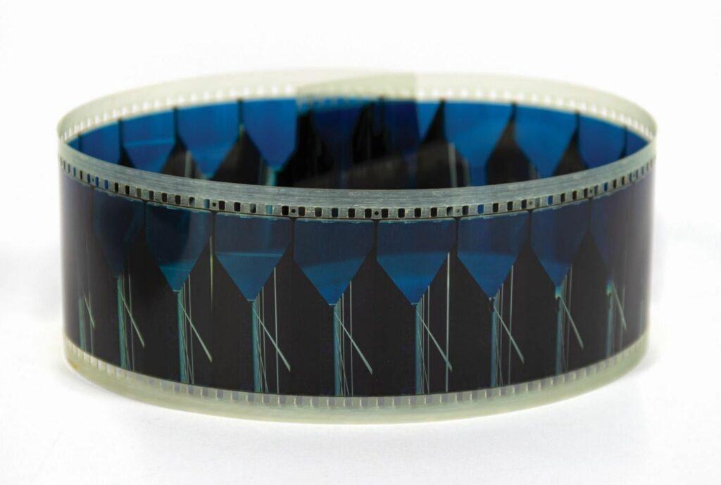 PeopleMover Thru the World of Tron 70mm Film Strip