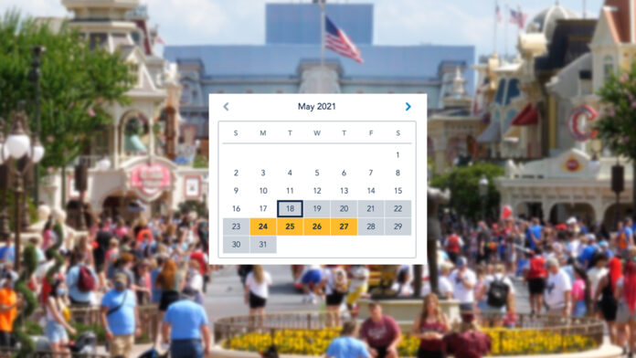 Park Pass Reservations Booked Up for May 2021